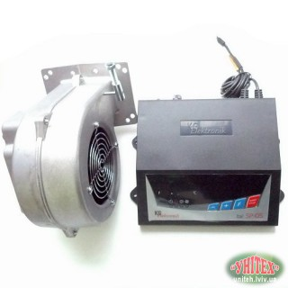 Вентилятор та блок управління KG Elektronik